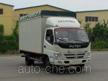 Foton BJ5049CPY-BG soft top box van truck