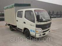 Foton BJ5049CPY-F8 soft top box van truck