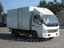 奥铃牌BJ5049V7BD6-KA型厢式运输车