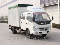 Foton BJ5049V8DBA-3 soft top box van truck