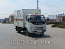 Foton BJ5049XRQ-A1 flammable gas transport van truck
