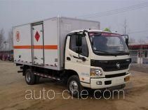 Foton BJ5049XRQ-A3 flammable gas transport van truck