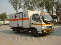 Foton BJ5049XWY-KS автомобиль для перевозки опасных грузов