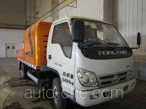 福田牌BJ5051THB型车载式混凝土泵车