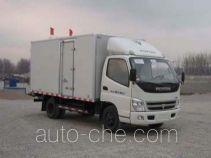 Foton BJ5051XBW-S insulated box van truck