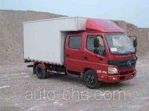 福田牌BJ5061VDDD6-FC型厢式运输车