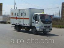 Foton BJ5069XQY-FA explosives transport truck