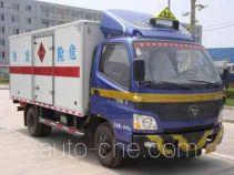 Foton BJ5069XRQ-FA flammable gas transport van truck