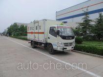 Foton BJ5079XRQ-FA flammable gas transport van truck