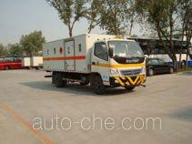 Foton BJ5079XWY-S автомобиль для перевозки опасных грузов