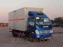 Foton BJ5081XQY-S1 explosives transport truck