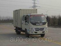 Foton BJ5089VEDEA-7 box van truck