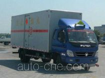 Foton BJ5089XQY-1 explosives transport truck