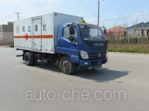 Foton BJ5099XRQ-FA flammable gas transport van truck