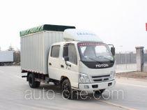 Foton BJ5101VGDEA-S2 soft top box van truck