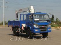 福田牌BJ5122JSQ-G1型随车起重运输车
