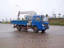 福田牌BJ5122V4PBB-A1型随车起重运输车