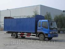 Foton Auman BJ5122VHCGG-2 soft top box van truck