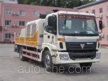 福田牌BJ5124THB型车载式混凝土泵车