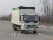 Foton BJ5129VJBFA-3 soft top box van truck