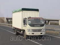 Foton BJ5129VJCFA-3 soft top box van truck