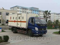 Foton BJ5129XQY-FA explosives transport truck