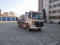 福田牌BJ5130THB型车载式混凝土泵车