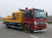 福田牌BJ5131THB型车载式混凝土泵车