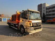 福田牌BJ5132THB型车载式混凝土泵车