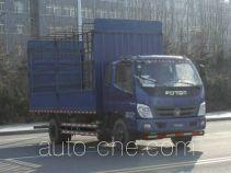 Foton BJ5139CCY-AC грузовик с решетчатым тент-каркасом