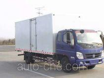 福田牌BJ5149XXY-FB型厢式运输车