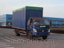 Foton BJ5159VKCFG-5 soft top box van truck