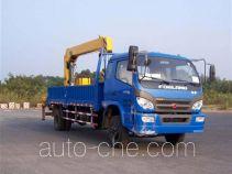 福田牌BJ5162JSQ1型随车起重运输车
