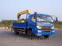福田牌BJ5162JSQ2型随车起重运输车