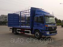 欧曼牌BJ5163CCQ-AA型畜禽运输车
