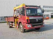 Foton Auman BJ5163SCD-1 truck mounted loader crane