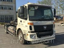 Foton Auman BJ5163ZXX-AA detachable body garbage truck