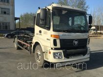 Foton Auman BJ5163ZXX-AB detachable body garbage truck