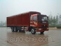 Foton Auman BJ5161VHCJE-2 soft top box van truck