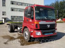 Foton Auman BJ5183GYY-AA oil tank truck chassis