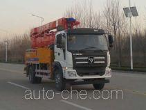 福田牌BJ5185THB-1型混凝土泵车