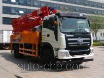 福田牌BJ5185THB-FA型混凝土泵车