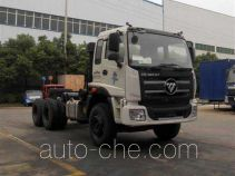 Concrete mixer truck chassis