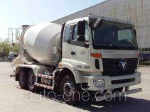 福田牌BJ5252GJB-XA型混凝土搅拌运输车