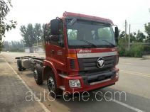 Truck mounted loader crane chassis