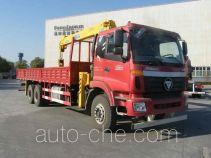 Foton Auman BJ5252JSQ-XB truck mounted loader crane