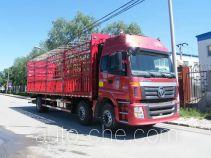 欧曼牌BJ5253CCQ-XA型畜禽运输车