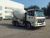 欧曼牌BJ5253GJB-AD型混凝土搅拌运输车