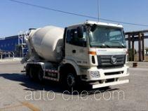 欧曼牌BJ5253GJB-XG型混凝土搅拌运输车