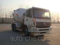 欧曼牌BJ5253GJB-XJ型混凝土搅拌运输车